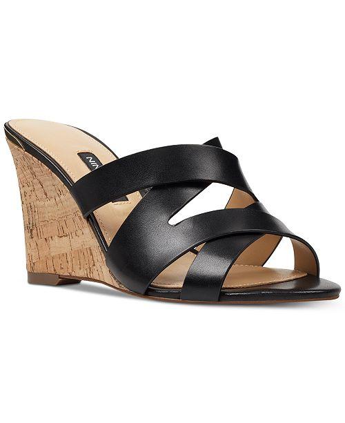 db0dcd3364 Nine West Lila Cork Wedges & Reviews - Sandals & Flip Flops - Shoes ...