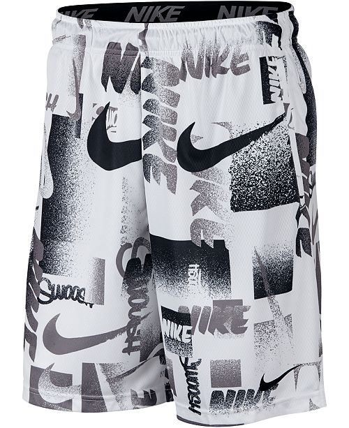 Nike Men's Dri-FIT Printed Training Shorts
