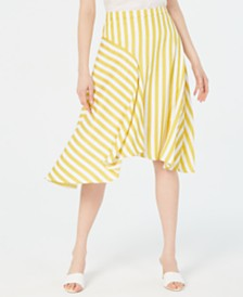 Lucy Paris Maya Striped Skirt