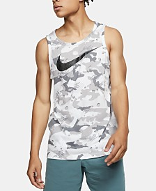 Nike Men's Dri-FIT Camo Training Tank Top