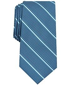 Men's Stripe Slim Tie, Created for Macy's