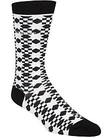 Calvin Klein Men's Printed Crew Socks