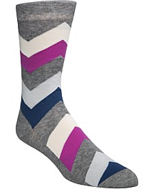 Cole Haan Men's Chevron Crew Socks