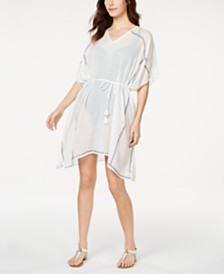Calvin Klein Whip Stitch Beach Cover Up