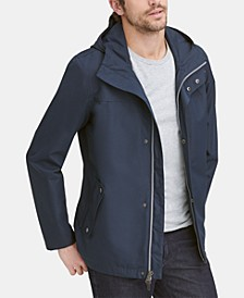 Men's Water-Resistant Rain Coat