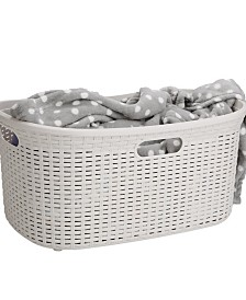 Mind Reader 40 Liter Laundry Basket