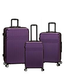 Rockland Pista 3PCE Hardside Luggage Set