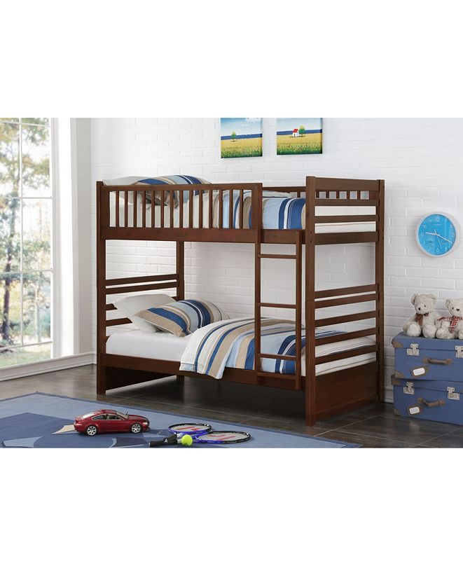 Donco Kids Twin Over Twin Beaumont Bunk Bed