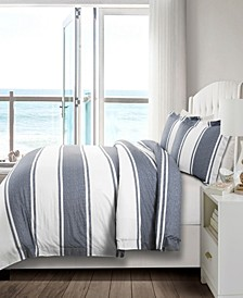 Rawson Stripe 3pc Full/Queen Duvet Cover
