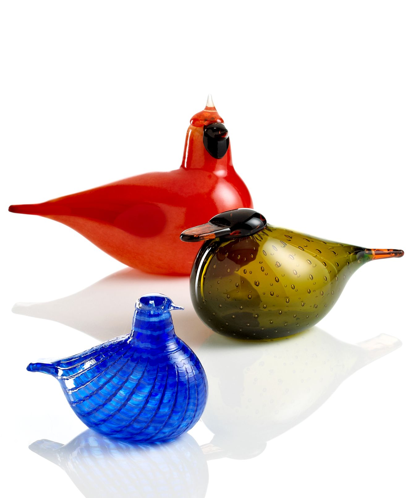Iittala Art Glass, Toikka Birds Collection - Collectible Figurines ... - Iittala Art Glass, Toikka Birds Collection - Collectible Figurines - Macy's