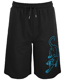 Puma Big Boys French Terry Athletic Shorts