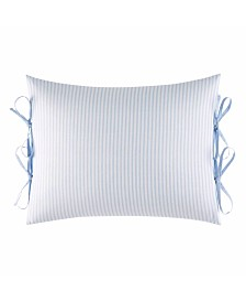 Laura Ashley Adley Ticking Stripe Breakfast Pillow