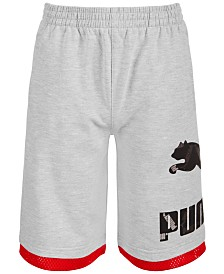 Puma Big Boys Performance Archive Logo Shorts