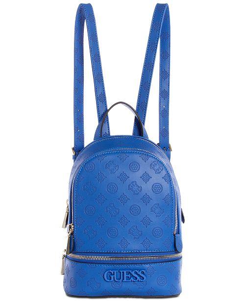 GUESS Skye Debossed Logo Backpack