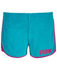Puma Big Girls Terry Cloth Shorts
