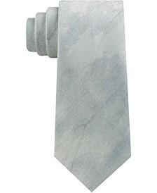 Men's Abstract Brush Strokes Slim Silk Tie