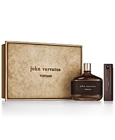John Varvatos Men's 2-Pc. Vintage Eau de Toilette Gift Set