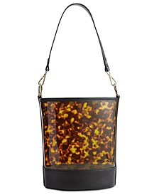 INC Clear Bucket Bag, Created for Macy's
