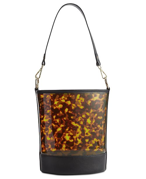 INC International Concepts I.N.C. Clear Bucket Bag, Created for Macy's