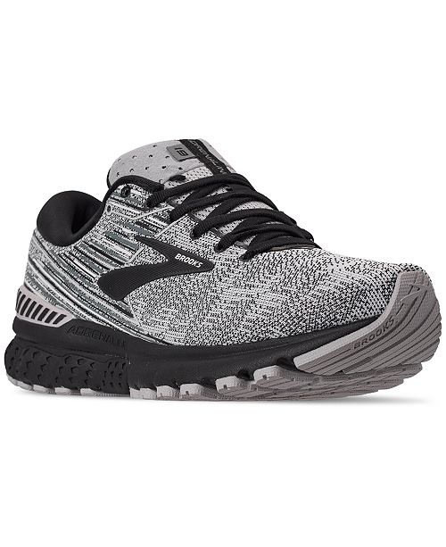 Brooks Men's Adrenaline GTS 19 Running Sneakers from Finish Line
