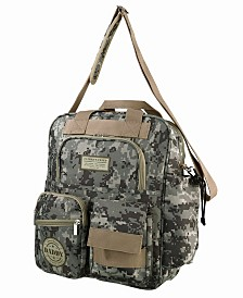 Lillian Rose Daddy Pixelated Camouflage Military Diaper Bag