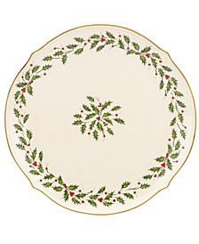 Holiday Round Serving Platter