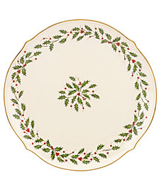 Lenox Holiday Round Platter