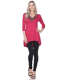 Women's Tonya Embellished Tunic top