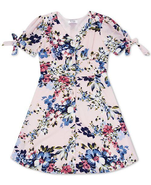 Speechless Big Girls Floral-Print Dress