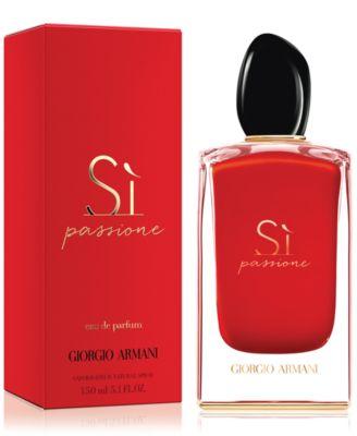 Giorgio Armani Si Passione Eau De Parfum Fragrance Collection