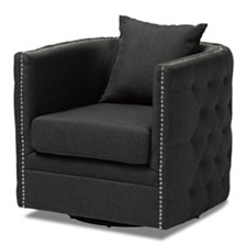 Micah Swivel Chair, Quick Ship