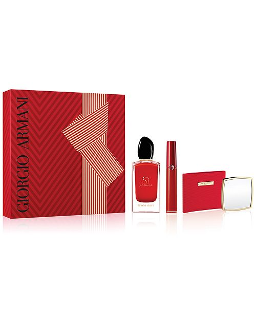 d4de59d2ad Giorgio Armani Si Passione 3-Pc Gift Set, Created for Macy's ...