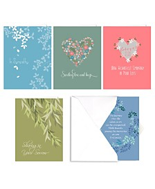 Heart Felt Sympathy Note Cards Assortment