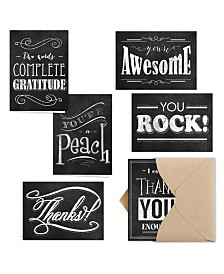 Retro Chalkboard Note Cards Assortment