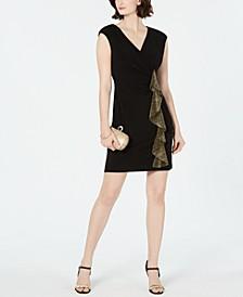 Petite Side-Ruffle Dress