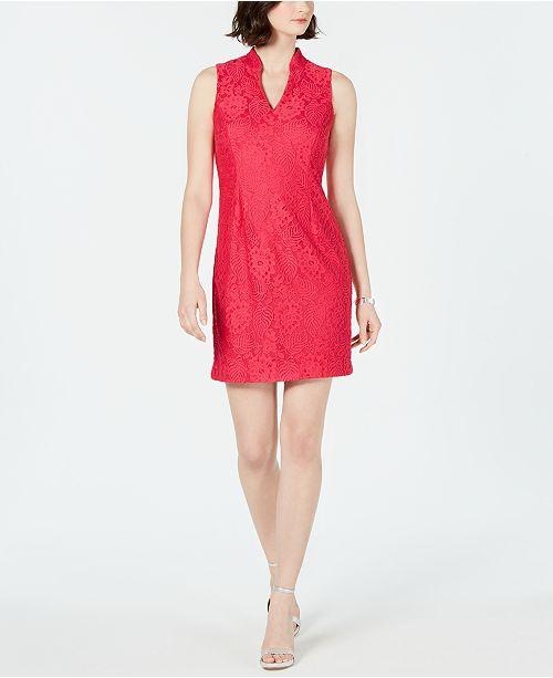 Jessica Howard Petite Lace A-line Dress