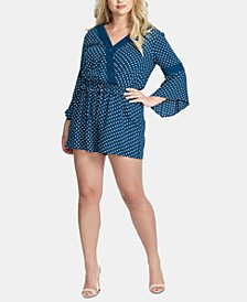 Trendy Plus Size Perri Bell-Sleeve Romper