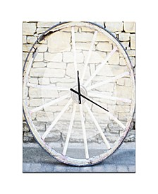 Designart Oversized Farmhouse Metal Wall Clock