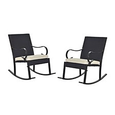 Harmony Outdoor Rocking Chair (Set of 2)