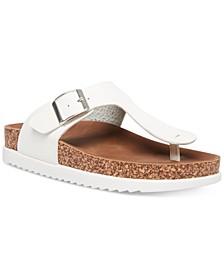 Gem Footbed Sandals