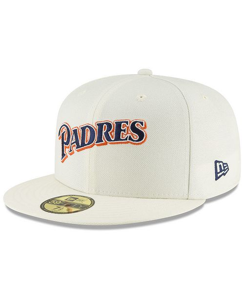 promo code 20263 fbe1b ... New Era San Diego Padres Vintage World Series Patch 59FIFTY Cap ...