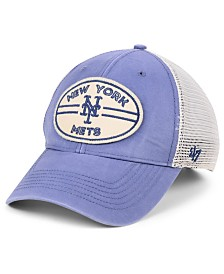 '47 Brand New York Mets Hudson Patch Trucker MVP Cap