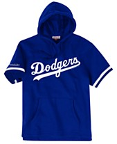 e8b5e17e95e11 Mitchell   Ness Men s Los Angeles Dodgers French Terry Short Sleeve Hoodie