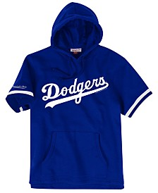 Mitchell & Ness Men's Los Angeles Dodgers French Terry Short Sleeve Hoodie