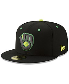 New Era Milwaukee Brewers Night Moves 59FIFTY Fitted Cap