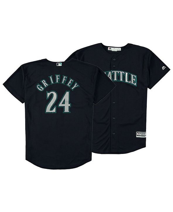 Mitchell & Ness Big Boys Ken Griffey Jr. Seattle Mariners Mesh V-Neck Player Jersey