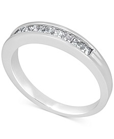 Diamond Band Ring (1/2 ct. t.w.) in 14k White Gold
