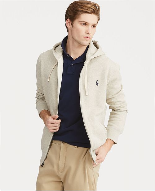 726d7cfd3cd968 ... Polo Ralph Lauren Men's Hoodie, Core Full Zip Hooded Fleece ...