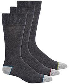 Men's 3-Pk. Crew Socks