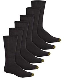 Men's 6-Pk. Harrington Crew Socks